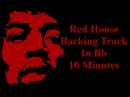 12 Bar Blues Backing Track In Bb - Red House - 10 Minutes