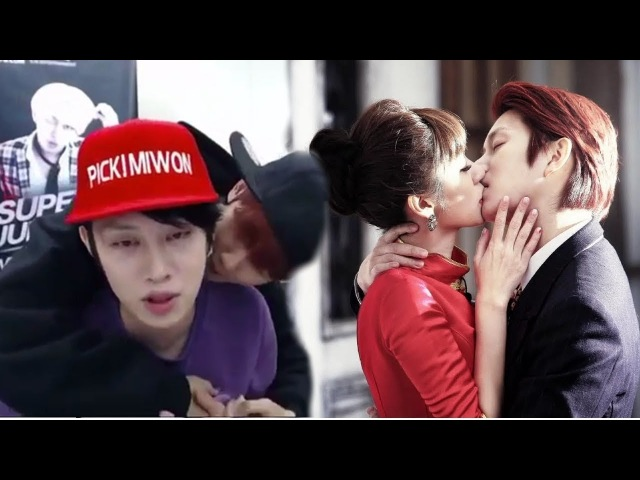 Heechul Super Junior Kiss Scene Moments : Girls vs. Boys