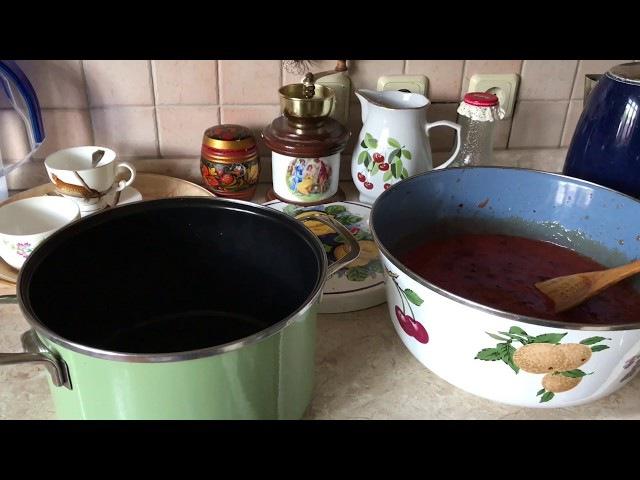 Сливовый джем на зиму ( очень простой рецепт)