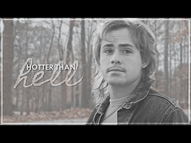 Billy hargrove hotter than hell