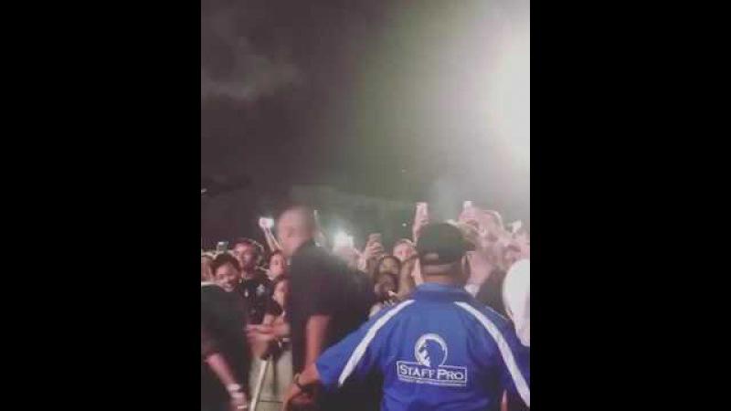 A$AP Rocky crowd anger moment Frank ocean concert Kendall Jenner Chris Rock FYFFest2017 Festival