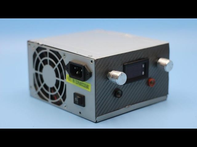 Зарядное устройство из компьютерного блока питания (ПОДРОБНО).