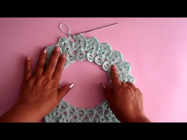 Blusa a crochet - ganchillo - tejida para dama - facil y rapido - parte 1