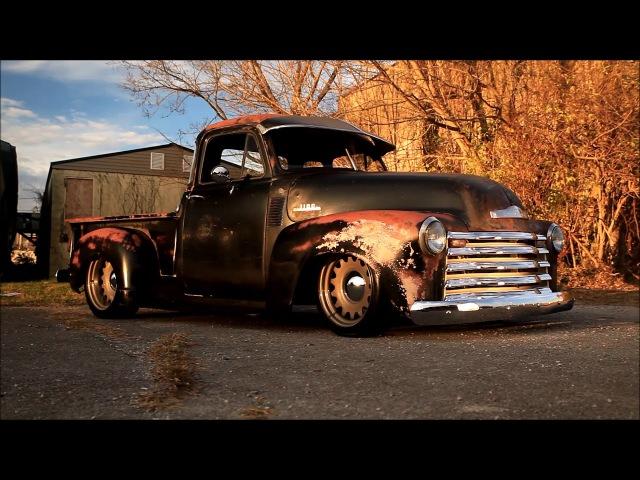 1952 Slammed Patina Chevrolet 3100 Truck BULLGOD www.TraditionalHotRod.com