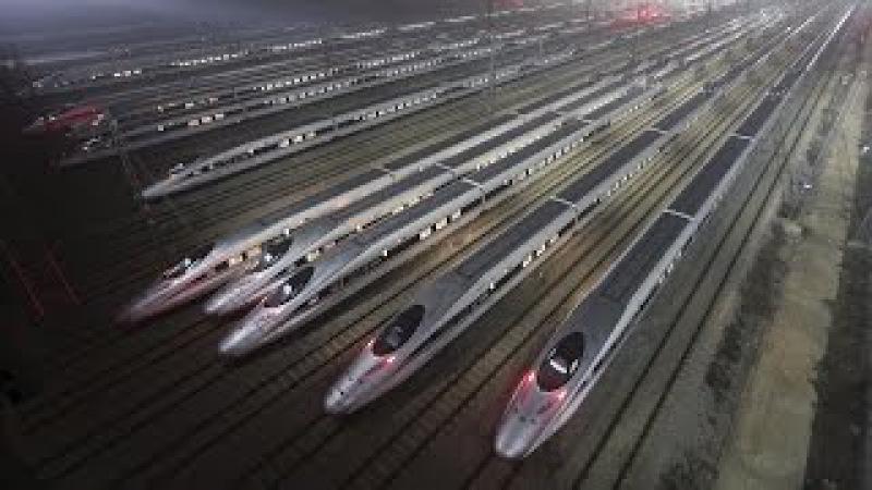 Китай творит чудеса: Самая быстрая железная дорога в мире. Discovery. Наука и образов...
