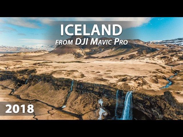 Unspeakable beauty of Iceland from above with DJI (Mavic Pro)