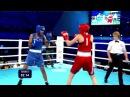 AIBA Women's Youth 2017 QF: (57kg) ABILKHAN Sandugash (KAZ) vs CHOPRA Shashi (IND) 22112017