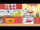 Учим слова для малышей - Первые слова для малыша в картинках. Кухонные предметы