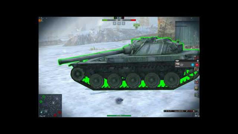 CRASH_TEST: Может ли T-46 пробит AMX ELC bis? World Of Tanks Blitz