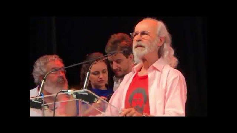 O ator Osmar Prado diz que tem um plano orquestrado para destruir Lula e e o PT