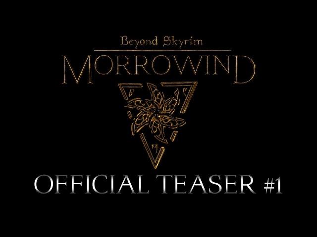 Тизер Морровинда в модификации Beyond Skyrim