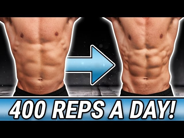 30 Day - 400 Reps A Day Challenge! | BUILD UNBELIEVABLE 6 PACK ABS!!