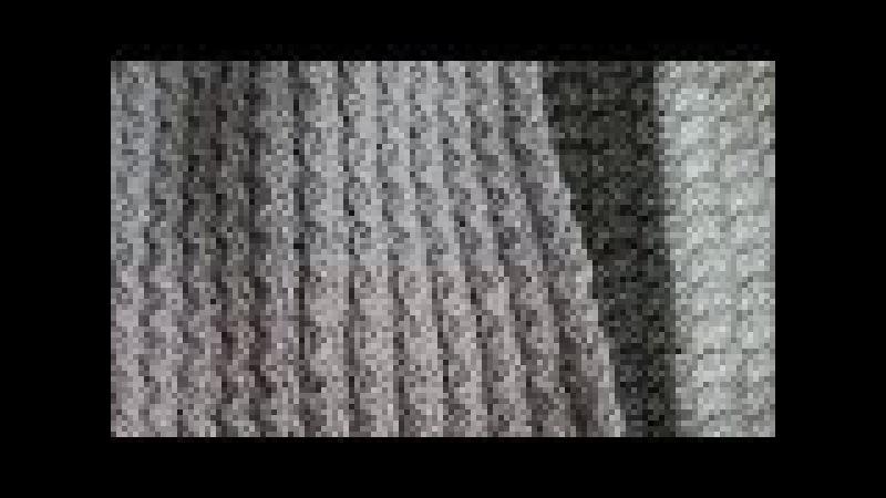 Шарф двухсторонним узором Mелкие косички.Узор очень простой.