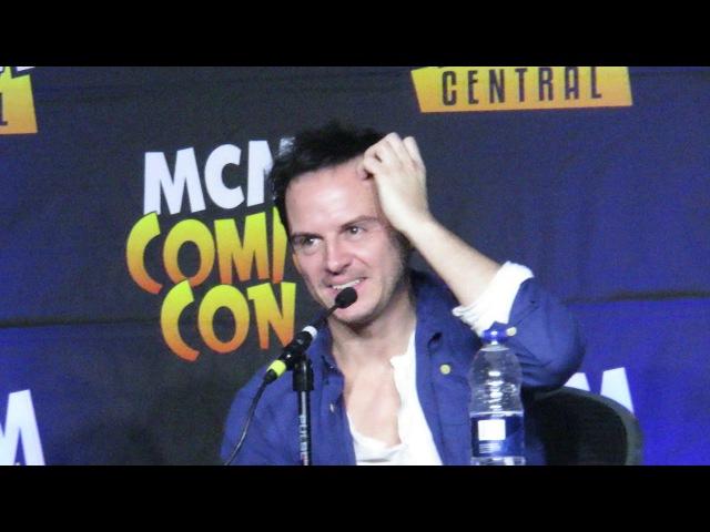 Andrew Scott Comic Con London 29 10 2017 part 4