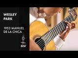 Weiss Passacaglia - Wesley Park plays 1953 Manuel de la Chica