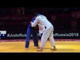 GS Ekaterinburg 2018, 100 kg, 2 round, Niyaz Ilyasov(RUS)-Grigorii Minaskin(EST) vk.comdzigoro_kano