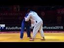 GS Ekaterinburg 2018 100 kg 2 round Niyaz Ilyasov RUS Grigorii Minaskin EST dzigoro kano