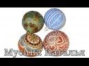 Декор ёлочных шаров Точечная роспись