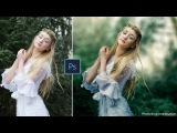 How to Edit Outdoor Portrait in Photoshop Blur Background