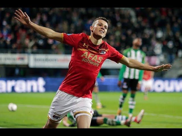 Goals AZ - PEC Zwolle (KNVB Beker)