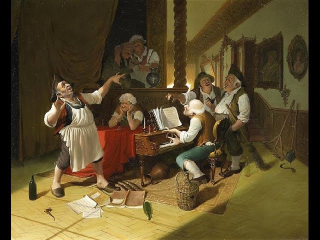 Vida Gábor (1937-1999) Hungarian artist ✽ Mozart -Rondo in D-Major K 382Allegretto