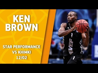 VTBUnitedLeague • Star Performance. Ken Brown – 22 pts, 5 reb & 5/6 from downtown in a BIG win @ Khimki!