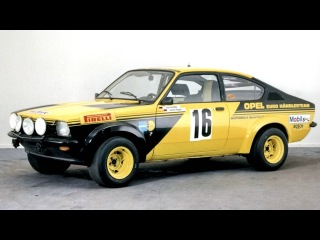 Opel Kadett GTE Rallye Car N '1976–77