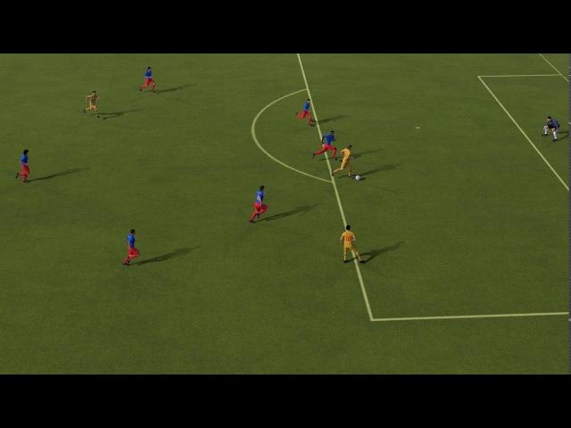 FIFA 14 (Classic Patch) Romênia 1x0 Colômbia WC 1994