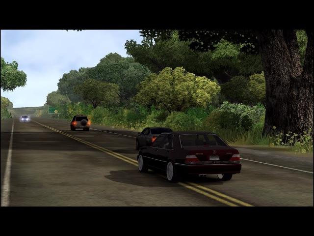 Test Drive Unlimited Mercedes W140 M120 7.3 Engine Sound
