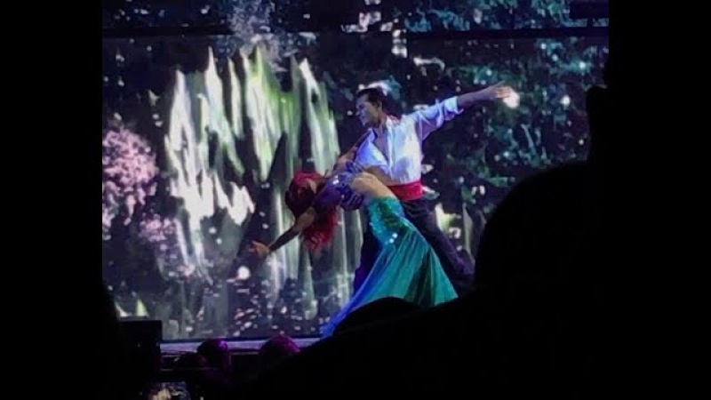 DWTS Light Up The Night: Part of Your World- Sharna Gleb