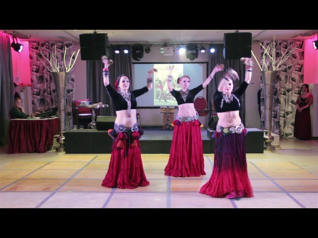 ATS dance by Arden Tribe 2 @ Tierra de Flamenco (25.02.2018)
