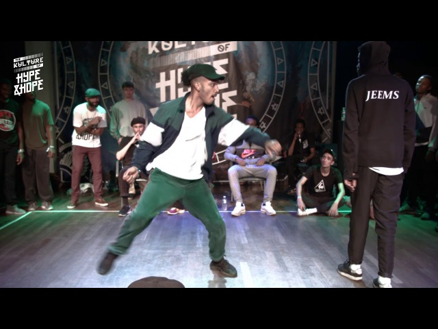 Jeems vs Ma2t | FINAL HIPHOP | The Kulture of HypeHope | Wind edition 2017