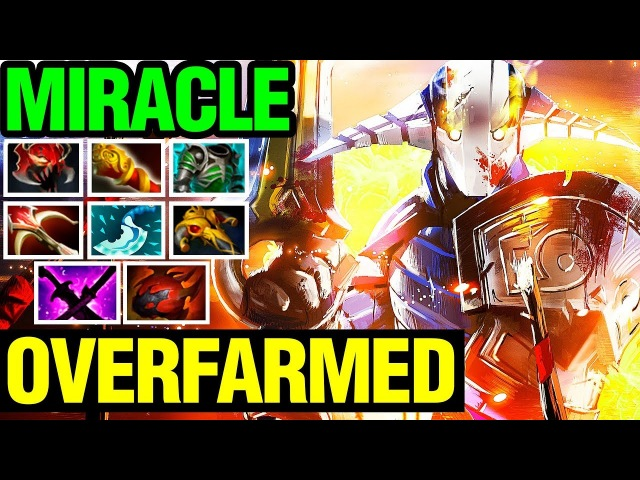 Never Let The Best Player In The World Overfarm - Miracle- Sven - Dota 2