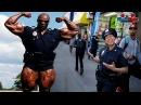RONNIE COLEMAN When USAs Biggest Policeman BODYBUILDER Goes in PUBLIC Bodybuilding Motivation