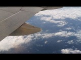 Пассажир самолёта снял на камеру флот НЛО