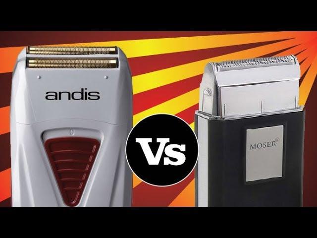Moser Shaver VS Andis TS-1 ProFoil Lithium