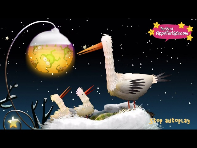 Nighty Night ❄️ Winter Wonderland 💤 Bedtime Story Lullaby Music for Toddlers