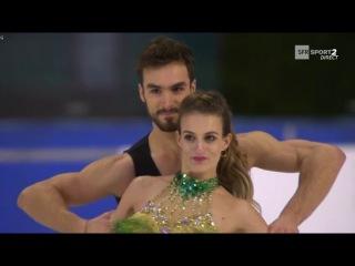 Gabriella PAPADAKIS & Guillaume CIZERON Short Dance French National Championships 2017