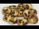 Песочное печенье с какао и корицей