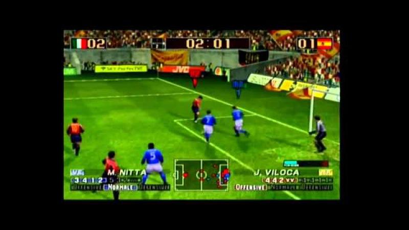 Virtua Striker 3 Version 2002 (NGC) - Gameplay - Part 01