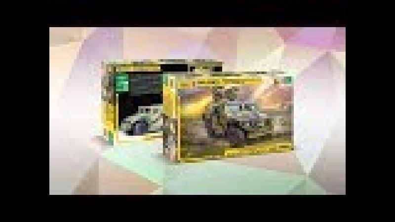 Российский бронеавтомобиль ГАЗ ТИГР с ПТРК Корнет-Д в масштабе 1:35 от компании Звезда