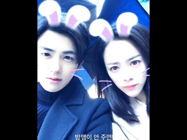 """박형식 / Park Hyungsik on Instagram: """"두개의 빛. 허진호감독님 한지민 박형식 스텝들의빛 배우들의빛 = 두개의빛 단편영화 그리고 저의 첫영화 많은 관심과 사랑 부탁드립니다."""""""