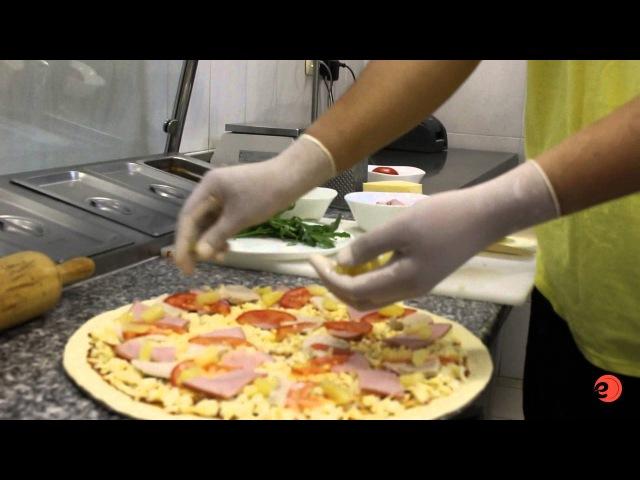 Пицца Сицилийская рецепт от шеф-повара