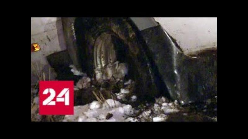 ДТП в Марий Эл: в момент аварии с креплений слетели самодельные сидения - Россия 24