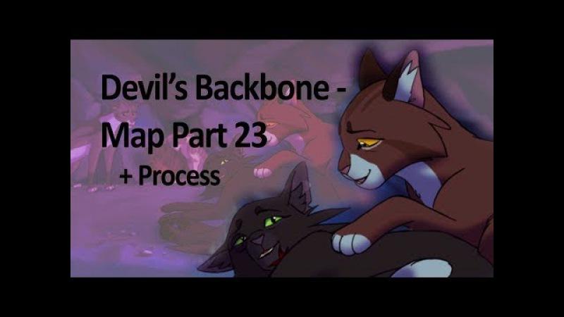 Devils Backbone Map Part 23 Process
