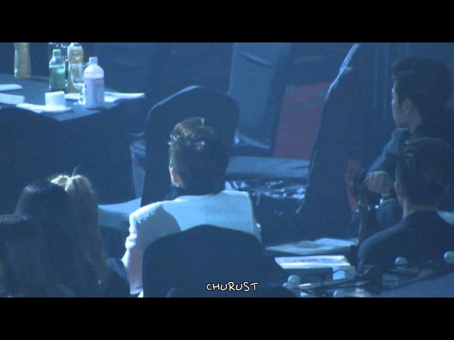 160114 서가대 방탄소년단 무대 보는 아이콘과 주책밥가지