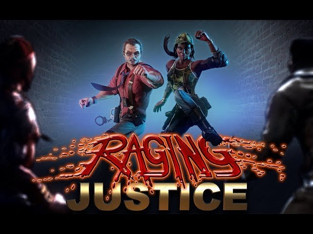 RAGING JUSTICE - Announcement Trailer (Steam, Nintendo Switch, PlayStation 4 Xbox One)