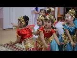 Индийский танец в детском саду. Астана