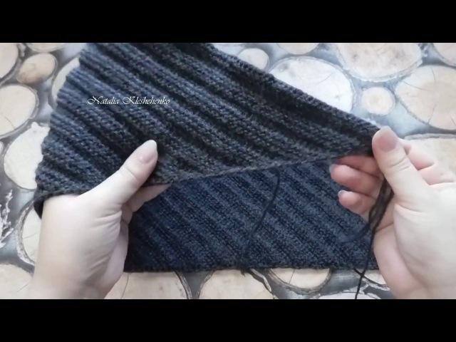 ТУНИССКОЕ ВЯЗАНИЕ* юбка по диагонали*часть 3*как удлинить и соединить