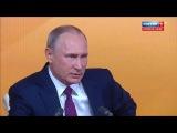 Путин об оппозиции и кандидатах в президенты (Большая пресс-конференция от 14.12.2017)